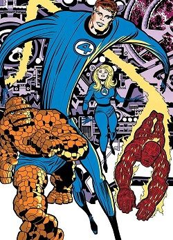 Fantastic Four (Marvel Comics characters) - Fantastic Four - Wikipedia