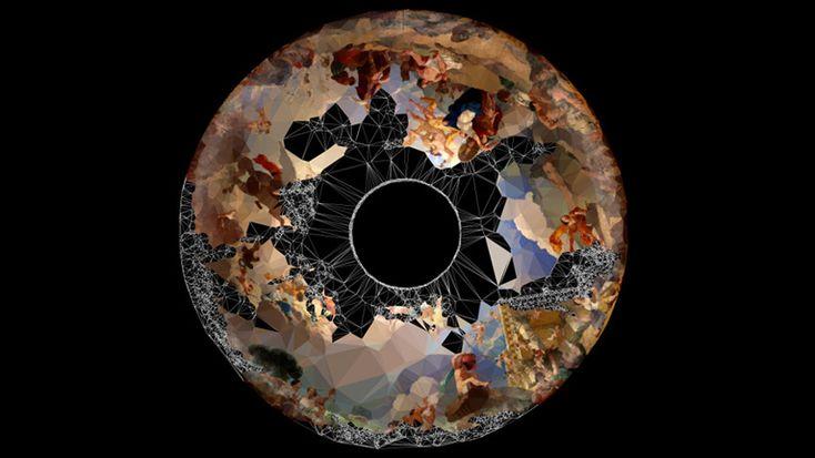 'strata #3' by quayola, 2009 (audiovisual installation)