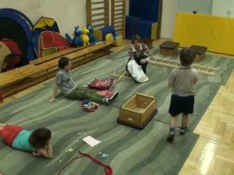 Mozgásfejlesztő terápia kisiskolás csoport számára - Online óra - YouTube