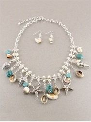Sea Life Necklace: Jewelry Necklaces, Beach Living, Diy Jewelry, Sea, Clever Crafts, Fab Jewlery, Fashion Stuff, Coral Reefs