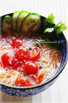 太陽のトマト麺...♡そうめん by food town [クックパッド] 簡単 ...