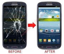 Replacing the screen