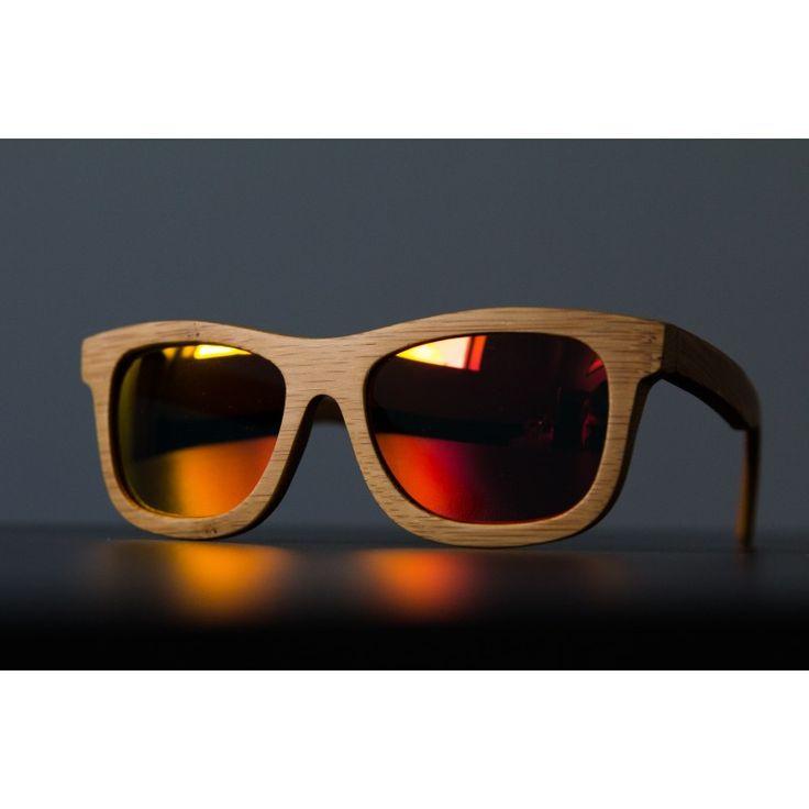 Bambusové slnečné okuliare
