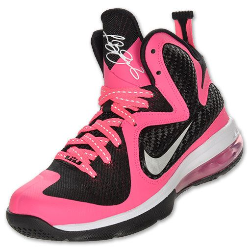 Buy Womens Lebrons Pink Lebron 9 Womens Laser Pink Black