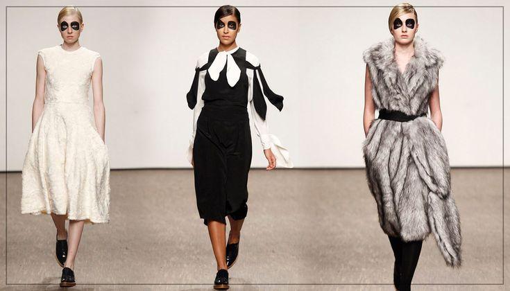 Designerul român, Ioana Ciolacu și-a prezentat cea mai recentă colecție pentru toamnă-iarnă 2016 în cadrul Berlin Fashion Week!  Sursă foto: vogue.com
