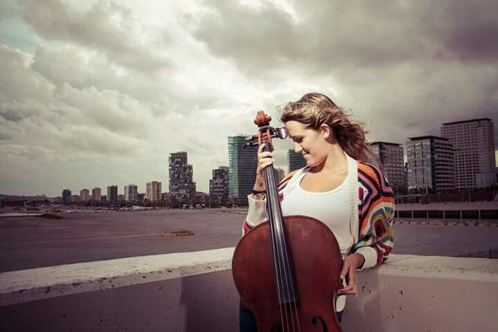 Cello, Marta Roma, musician, natura, beauty, portrait