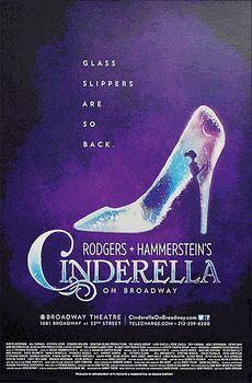 Rodgers & Hammerstein's Cinderella Broadway Poster