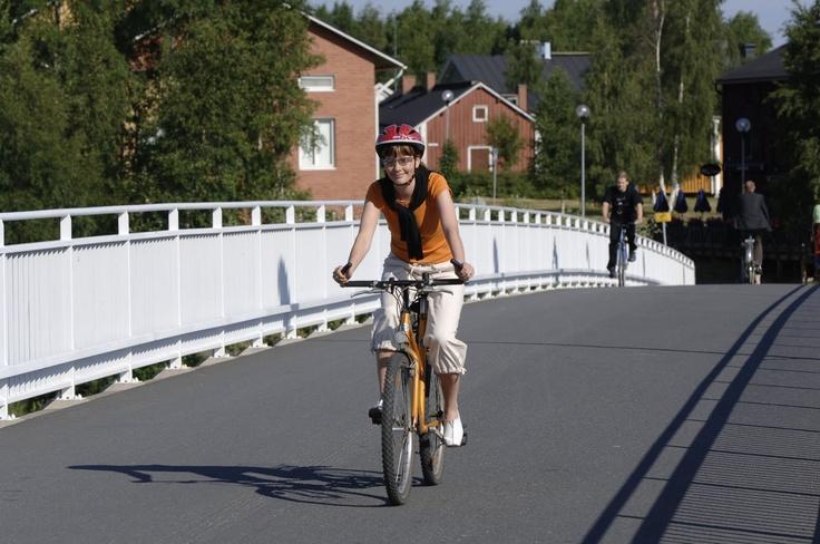 BIKE BRIDGE OULU