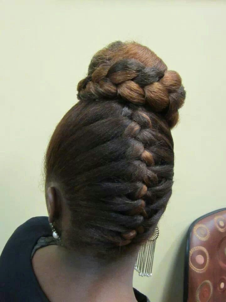 Inverted french braid | ############todo | Pinterest