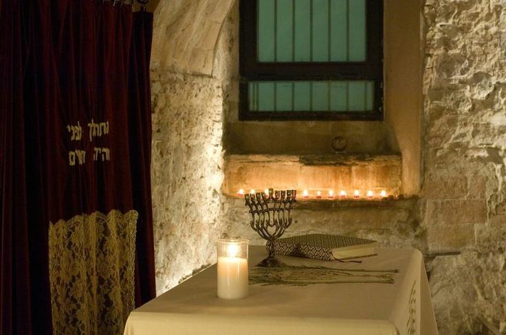 Sinagoga Mayor de Barcelona. Interiores sinagoga. Copyright #Sinagoga Mayor de Barcelona/Anna Serrano #Sefarad #Sternalia