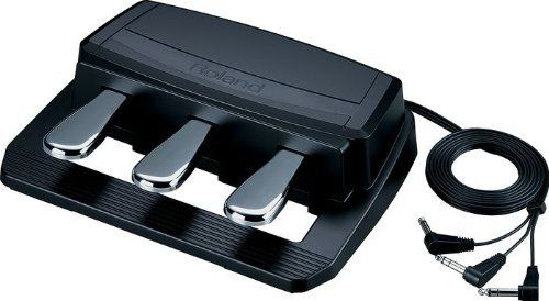 Roland RPU-3 by Roland. $129.00. Here's a super-convenient 3-pedal piano pedal from Roland. The PRU-3 piano pedal takes three of Roland's high-quality piano pedals and combines them in the a unit that's super convenient and easy to use. What's really cool about the PRU-3 is that it's got three discrete outputs, so you can use the PRU-3 with lots of different digital pianos and keyboards. Even better, when you use the PRU-3 with your Roland FP-7F or RD-700 series piano (or any ot...