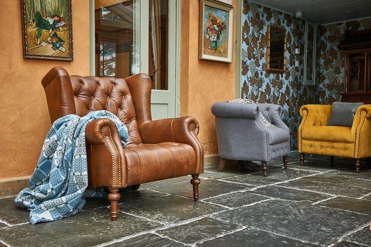 Turner Chair from £559 & Jamie £439 Chair #meyerandmarsh #livingroomideas #tubchair