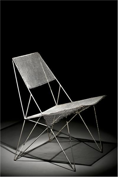 Design: Jaroslav Vaculík, chair prototype 1960-65