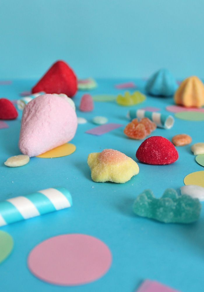 Tante colorate caramelle ti aspettano sul blog! idee per ricette e decorazioni DIY!