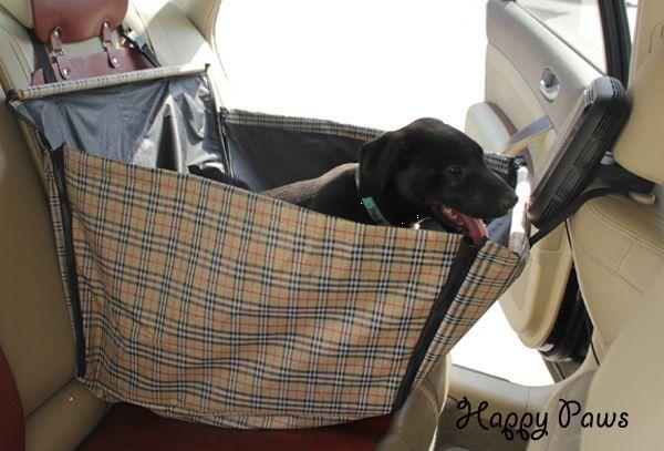 """фото Защитная накидка гамак на кресло для перевозки собак в автомобиле """"Друг соло плюс"""""""