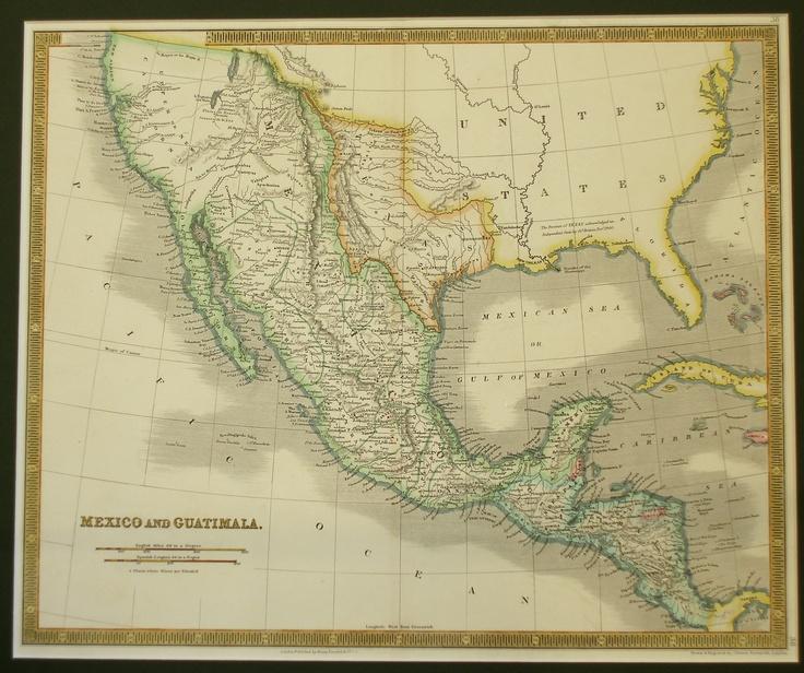 Best Mexican American War Ideas On Pinterest American War - Us and mexican map before war