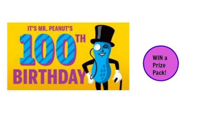 WIN a Birthday Party Prize Pack from Mr Peanut. Ends 9/15/16. Enter 1 X per Period. - http://gimmiefreebies.com/topic/win-birthday-party-prize-pack-mr-peanut-ends-91516-enter-1-x-per-period/