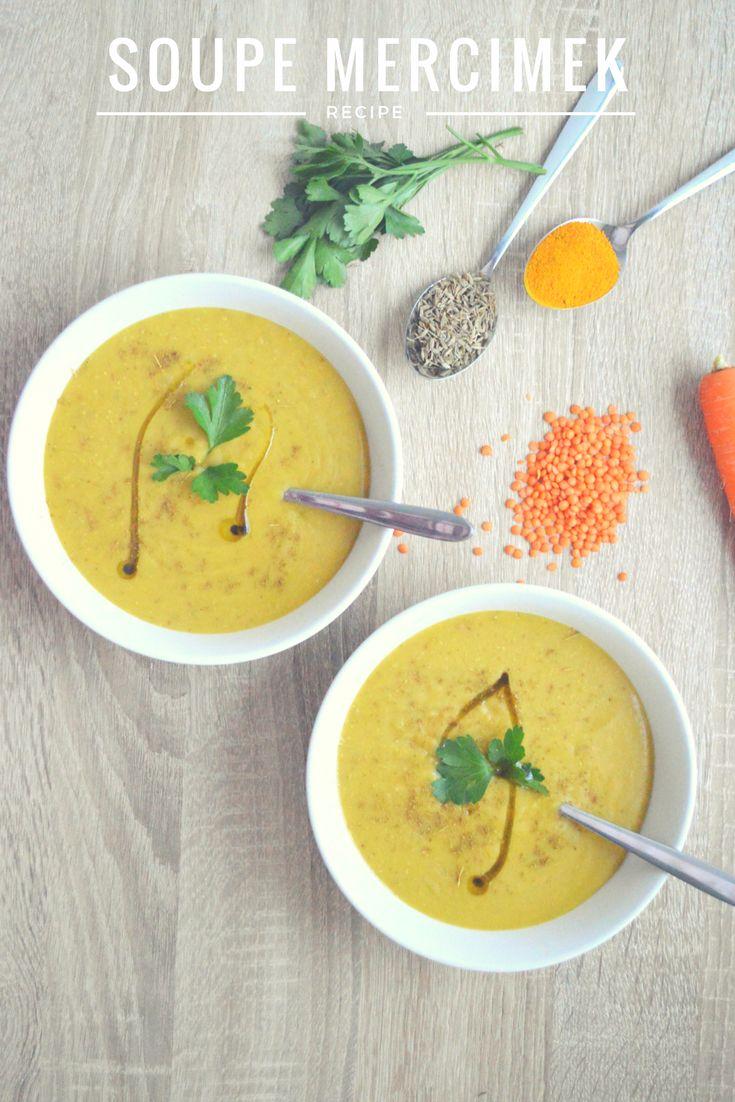 Sain Naturel - Soupe Lentilles corails mercimek çorbasi healthy vegan végétalien sans gluten rapide saine