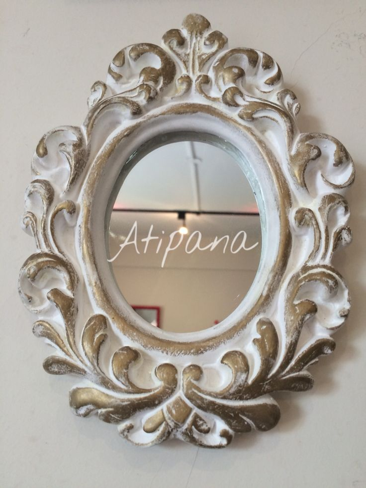 Espejo con marco de yeso atipana atipana pinterest - Espejos con marco ...