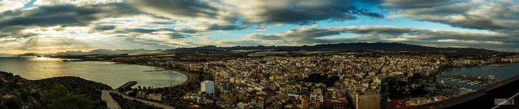 Postcards from Aguilas, Murcia  http://malloryontravel.com/2016/11/cool-places/europe/spain/postcards-aguilas-murcia/  Fujifilm X-T2 27mm @ f14 1/125sec ISO 250 (8 stitched image panorama)