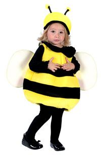 Bumble Bee Costume | My daughter's costume for the Halloween run this year