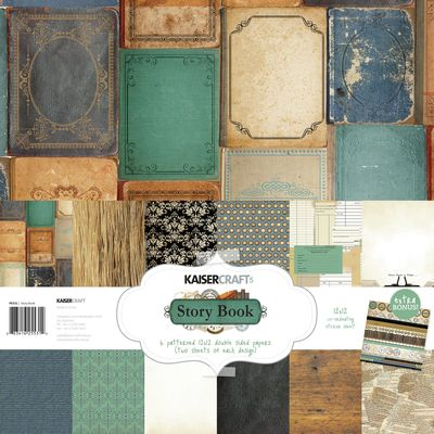 Story Book Paper Pack