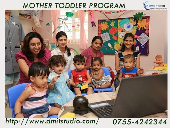 Mother Toddler Program is a new and modern concept of building relationship between a mother and their child.It's an interactive session for both the mother and the child to experience.For more update about mother toddler program and activities visit here http://www.dmitstudio.com/