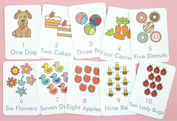 Free Printable Counting Flash Cards Printable Flash Cards Flashcards Preschool Activities Free online preschool counting games