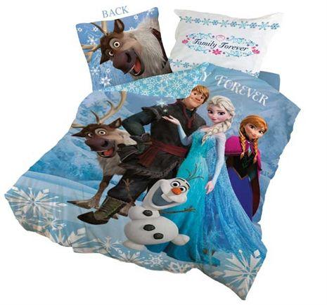 Disney Princess, Frozen, Sengesett, 150x210 & 50x60 cm fra Lekmer. Om denne nettbutikken: http://nettbutikknytt.no/lekmer/