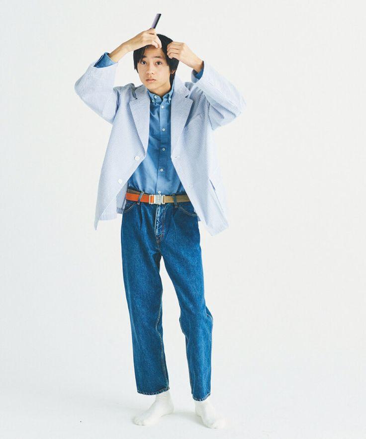 新メンズノンノモデル水沢林太郎 厳選7着で春の好印象着回し6days men s non no web メンズノンノ ウェブ ファッションアイデア 衣類 着回し