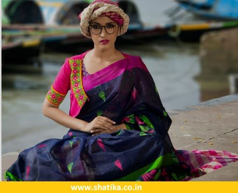 Check out the latest collection of #fancy #sarees online for wedding, party, birthday function etc. These sarees are made from silk, cotton & silk cotton fabrics. Women can easily handle these sarees because of their light weight.