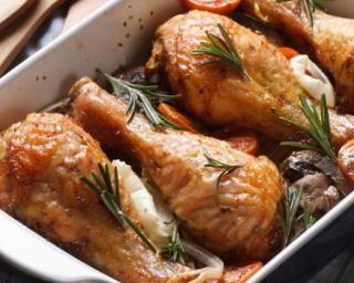 100 best images about les plats traditionnels en version all g on pinterest - Cuisse de poulet au four ...