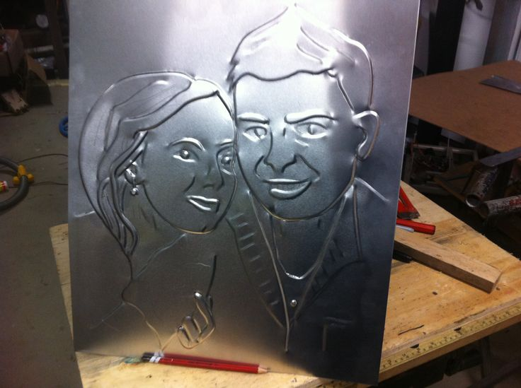 Couples portrait , made this for client ,she was very happy with result