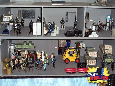 action figure diorama