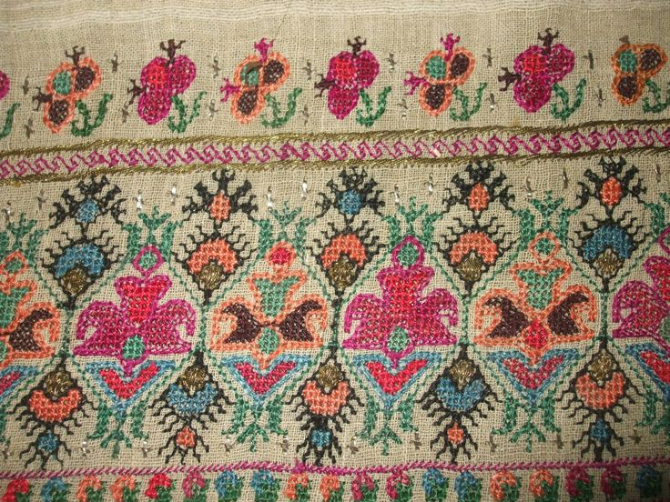 Embroidery of a sokaj