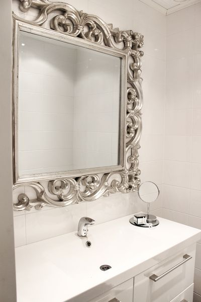 remontti,wc,peili,valkoinen