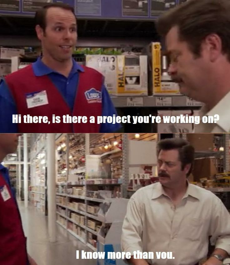 60b03058c2cf2acd7182d54e315ca559 lowes parks and recreation 10 best home depot memes images on pinterest funny photos, funny
