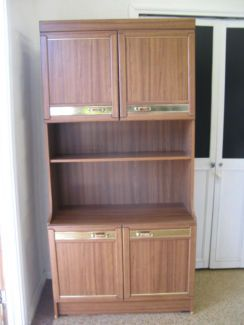 $60 RETRO WALL DISPLAY CABINET Storage Unit Cupboards 90x42x185cm Text 0411691171 or email info@bitspencer.com