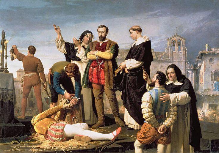 Execution of the Comuneros of Castile, by Antonio Gisbert (1860)