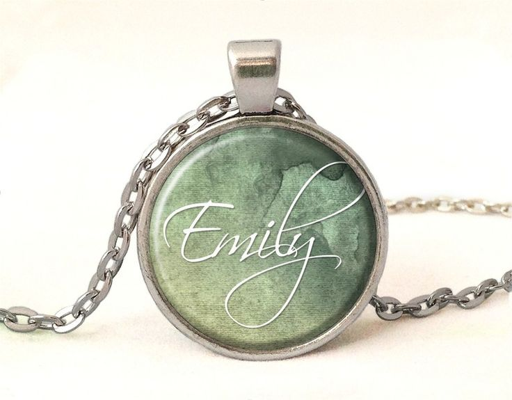 Custom personalized name Necklace from EgginEgg by DaWanda.com