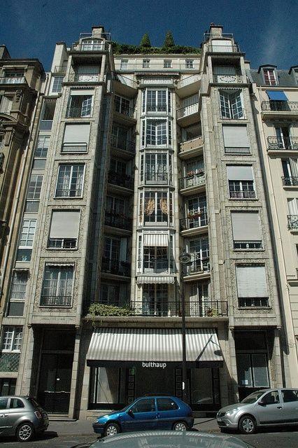 Rue Franklin Apartments Paris. France - 1903 Architect: Auguste Perret