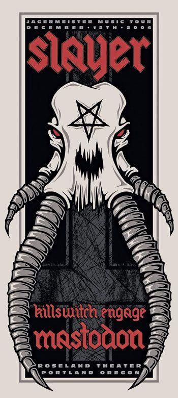 Slayer, Killswitch Engage, Mastodon
