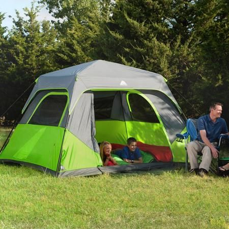 Walmart Ozark Trail 6 Person Tent with 2 Folding Chairs and Queen Airbed $79 & 178 best Tent that I like images on Pinterest | Tent Tent camping ...