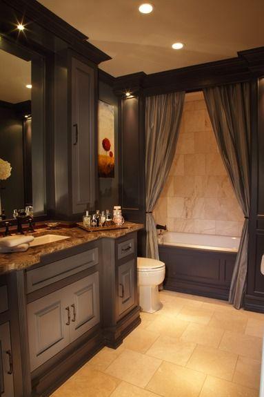 Specialty Artisan Portfolio By Bespoke Dark Bathroomsguest Bathroomsbathrooms Decorbeautiful Bathroomsguest Bathroom Colorsbathroom