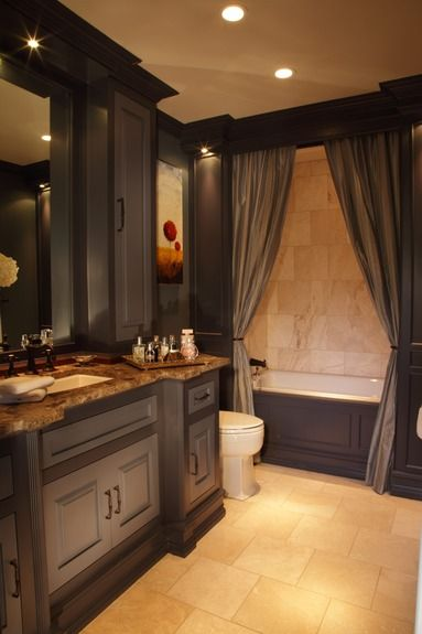 Specialty Artisan Portfolio By Bespoke Dark Bathroomsguest Bathroomsbathrooms Decorbeautiful Bathroomsguest Bathroom Colorsbathroom