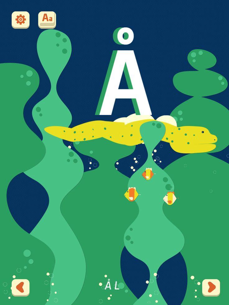 ZOO Alfabet är en alfabetsapp med djurtema och ovanliga djur. Den innehåller svenskt tal och bokstäverna å, ä och ö.