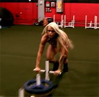 Road to the Arnold: Total-Body Workout with Larissa Reis Muscle and Fitness Hers