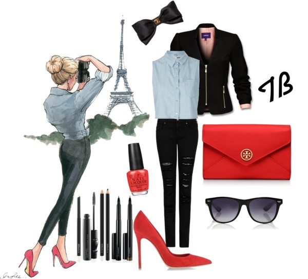 """Paris"" by tbozkn on Polyvore"