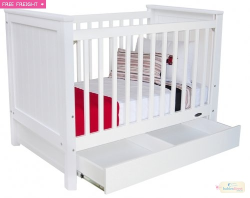 TOUCHWOOD METRO COT + DRAWER, $989