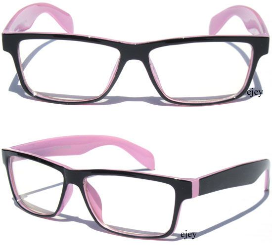 b02912665d black and pink Prescription Glasses for Women